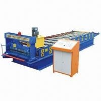 China Roofing Tiles/Steel Tiles/Sheet Rolling Machine, 2 to 6m/min Speed Range on sale