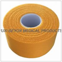 Quality Zig - zag Yellow Color Breathable Athletic Sports Tape For Trainer Protection for sale