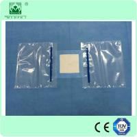 Buy cheap 120x140cm Nonwoven surgical eyes drape with double fluid collection pouch from Wholesalers