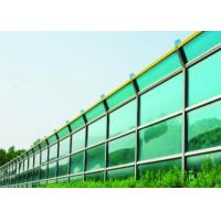 China Clear Green Hightway Sound Insulation Walls with Strength Impact Resiatance on sale