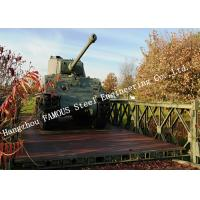 China Prefabricated Easy Assembling Modular Military Bailey Bridge Government Application for sale