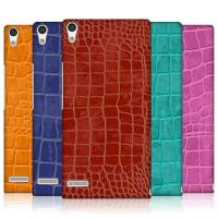 Wholesale Crocodile Skin Mobile Phone Cases For Huawei Ascend P6 , Hard Plastic Phone Cases from china suppliers