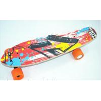 Wholesale Four PU Wheels Electric Smart Skateboard Remote Conrtol Longboard 10km/h from china suppliers
