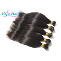 Wholesale 7A Peruvian Straight 100% Human Hair Bulk Hair Extensions 8 Inch - 36 Inch from china suppliers
