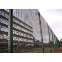China Welded industrial 358 security mesh panels for playground 0.9m-5.2m height on sale