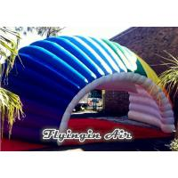 Buy cheap 8m Fan-shaped Inflatable Semicircular Tent/Tunnel for Stage and Car from Wholesalers