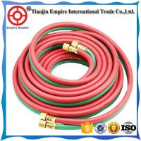Wholesale Made in China rubber twin welding hose oxygen & acetylene hose double hose for industrial use from china suppliers