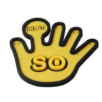 Buy cheap Hand shaped silicone coaster from wholesalers