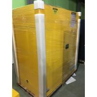 Wholesale Venting Flammable Safety Cabinets , Chemical Storage Containers Double Doors from china suppliers