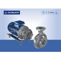 Buy cheap Large flow centrifugal beer High Purity Pumps  for wine / beverage from wholesalers