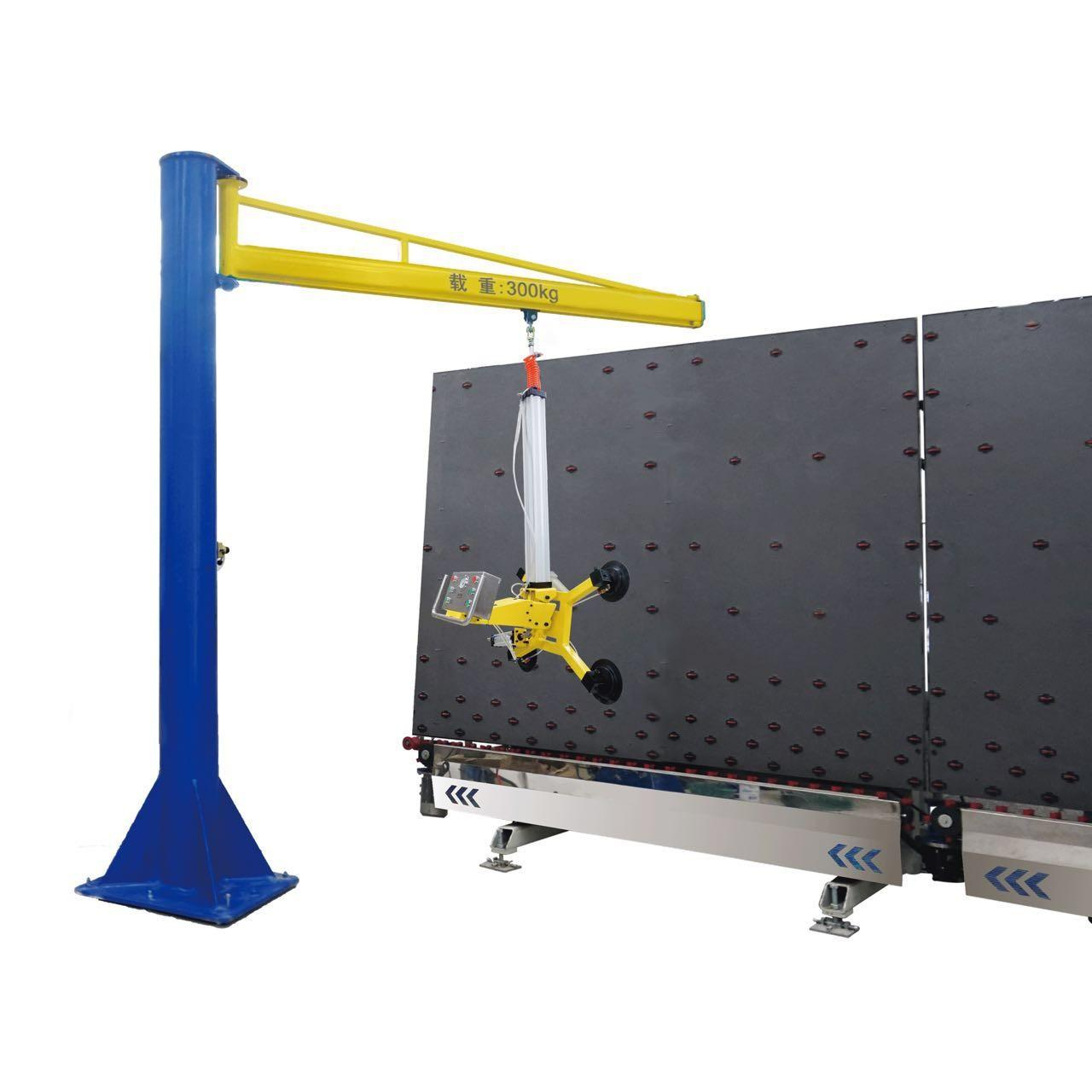 Wholesale High Efficient Vacuum Hoist Lifting Systems / Glass Vacuum Lifter Jib Crane from china suppliers
