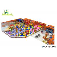 Quality Slide Climbing Baby Indoor Playground For Amusement Park 15.86 * 7.32 * 8M for sale