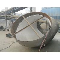 China Valor Large Abnormal Shape Wear Resistant Pipe on sale