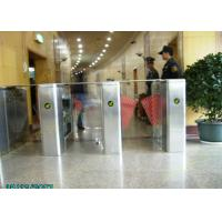 Wholesale Samrt  304 Stainless Steel Blue Wing Turnstiles With IR Sensor  Control from china suppliers