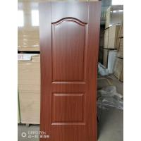 Wholesale Height 2150mm HDF Door Skin 3mm / 4mm Thickness Natural Veneer Surface from china suppliers