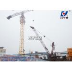 China 10TONS QD1840 HYCM Luffing Derrick Crane 18m Jib Full VFD Control for sale