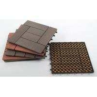 Wholesale Sunshien WPC decking tile 300*300mm  for outdoor highly reliable as customer DIY organized from china suppliers
