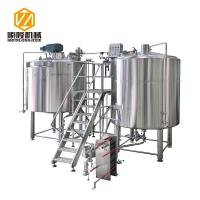 China Micro Craft Small Microbrewery Equipment 5HL Stainless Steel Energy Saving Type on sale