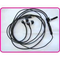 Wholesale Iphone Zipper Earphone With Volume Control And Mic For Mobile Phone Earphone YDT1 from china suppliers