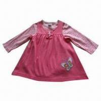 China Baby Dress, Consist of Bodysuit, Made of 100% Cotton Interlock, Safe and Good Quality on sale
