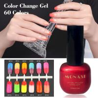 China Hot Sale Magic Colour Changing Gel Polish Soak off Chameleon Paint Thermal Color on sale