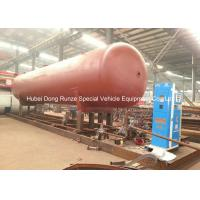 Wholesale 50000L LPG Gas Tank Skid Mounted , Propane Gas Tank For Mobile Gas Refilling from china suppliers