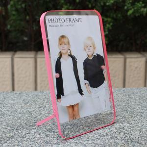 Quality Double sided 6x4 acrylic photo frame with magnets,magnetic acrylic photo frames for sale
