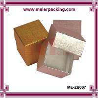 Wholesale Metallic Golden/Silver Foil Printed Jewelry Boxes ME-ZB007 from china suppliers