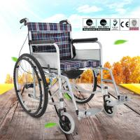 Wholesale Easy Operation Lightweight Manual Wheelchair For Disabled People OEM Available from china suppliers