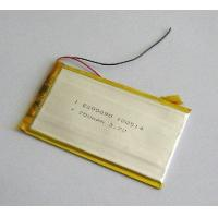 Buy cheap 3.7V,700mAh,Polymer Lithium-ion Battery from wholesalers