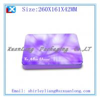 Wholesale 0.23mm rectangle chocolate tin box from china suppliers