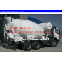 Wholesale 371HP 18 / 20cbm 8x4 Sinotruk Howo Concrete Mixer Trucks With EURO2 Standard Diesel Truck from china suppliers