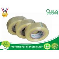 Quality Single Sided Transparent BOPP Packing Tape / Masking Tape Tensile Strength SGS for sale