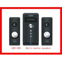 Wholesale 2.1 Multi-Media Speaker With USB and Micrphone (GRD-200) from china suppliers