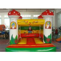 Wholesale Mushroom Inflatable Bouncer , Colorful Inflatable Amusement Equipment from china suppliers