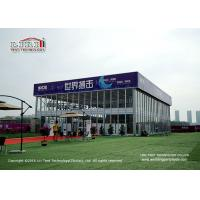 Wholesale Customized 1000sqm Aluminum Outdoor Event Tents Thermo Roof Cube Structure from china suppliers