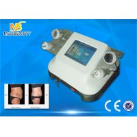 Quality Face Lifting Ultrasonic Cavitation Rf Slimming Machine , 8 Inch Color Touch for sale