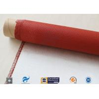 Wholesale 750 Degree Silicone Coated Fiberglass Cloth Heat Protection Fireproof Covers from china suppliers