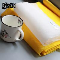 China High Tension Polyester Silk Screen Printing Mesh 1.45m * 50m For CeramicProducts on sale