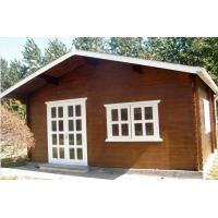 Wholesale Small Pine Wood Outdoor Wooden Chalet Cabin House Without Paint from china suppliers