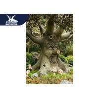 Durable Funny Animatronic Talking Tree In Zoo Parks Customized Size for sale