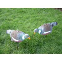 Buy cheap Wood Pigeon Decoys With Flexi-Stakes, Eco-friendly Flocked Crow Decoys With Legs And Stick For Hunting from wholesalers