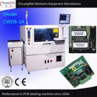 Buy cheap A5 Motor Automatic PCB Labeling Machine High Pixel CCD Zoom Lens from wholesalers