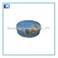Wholesale round mint tin can from china suppliers