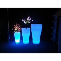 Wholesale Water Resistance Flower Garden Patio Decor Led Lighted Flower Pots from china suppliers