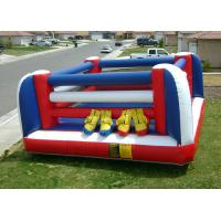 Wholesale 2 Person Inflatable Boxing Ring , PVC Inflatable Fighting Court for Kids from china suppliers