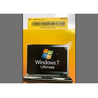 PC / Computer Windows 7 Ultimate 64 Bit Retail Product Key Microsoft Certified