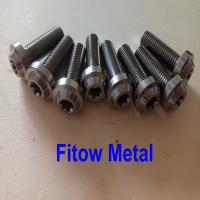 Buy cheap Blue Anodized Titanium Bolts Vietnam Motorcycle Titanium Bolt M10*30mm from wholesalers