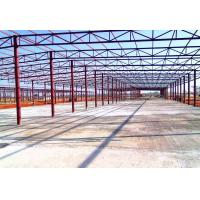 China Truss Roof Steel Structure Workshop Prefabricated Steel Space Structure Warehouse for sale