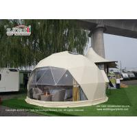 Wholesale 7m Geodesic Dome Tent with Roof Lining for Hotel, Camping Dome Tent for Sale from china suppliers